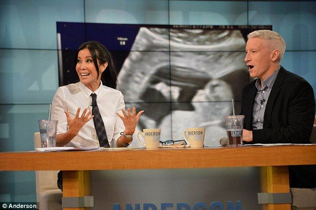Lisa Ling announces her pregnancy on the Anderson Cooper show as her ultrasound image plays in the background.  The baby (@12 wks gestation) is seen JUMPING repeatedly!  OK liberals...tell me that's NOT a baby?! There's NO better pro-life argument than this!