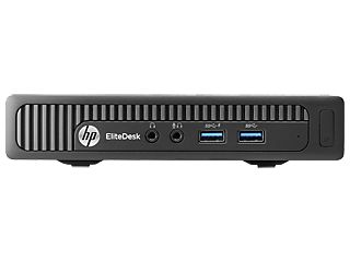 HP EliteDesk 800 G1 Desktop Mini in almost any spot or easily attach to several optional peripheral devices using the integrated VESA mount.