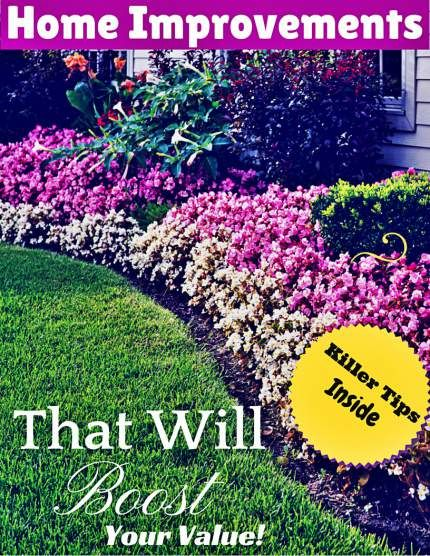 Best 25 home values ideas on pinterest dfw real estate for Home improvements that increase value