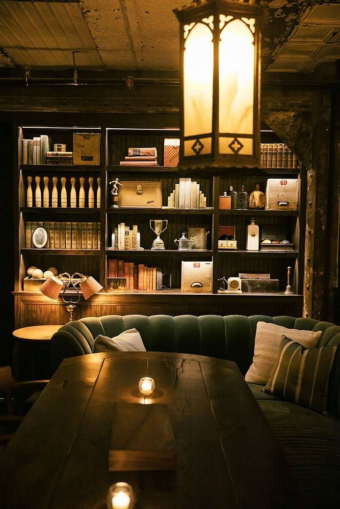 Recreate the Look of Philadelphia's Harp & Crown at Home: The Speakeasy and Bowling Alley