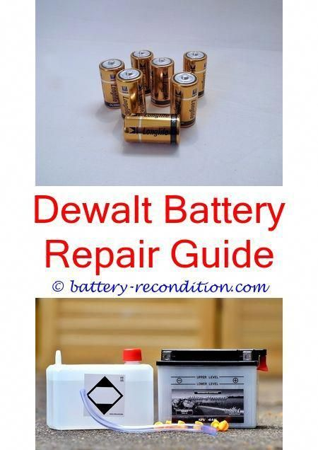 fix milwaukee nicd battery repair guide