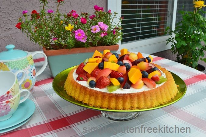 Fruit Flan - the best way to use abundance of summer fruit