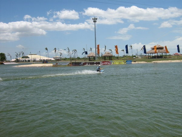 Wake Boarding in Naga, Camarines Sur