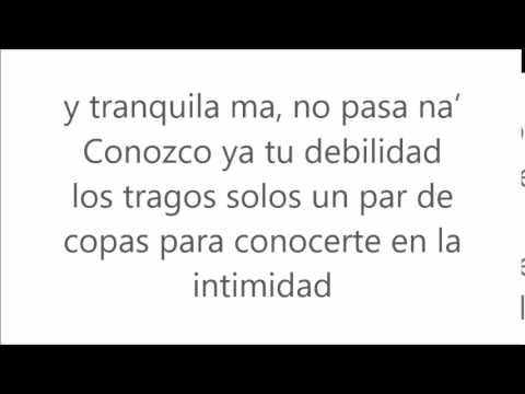 Borro Cassette Maluma-Letra