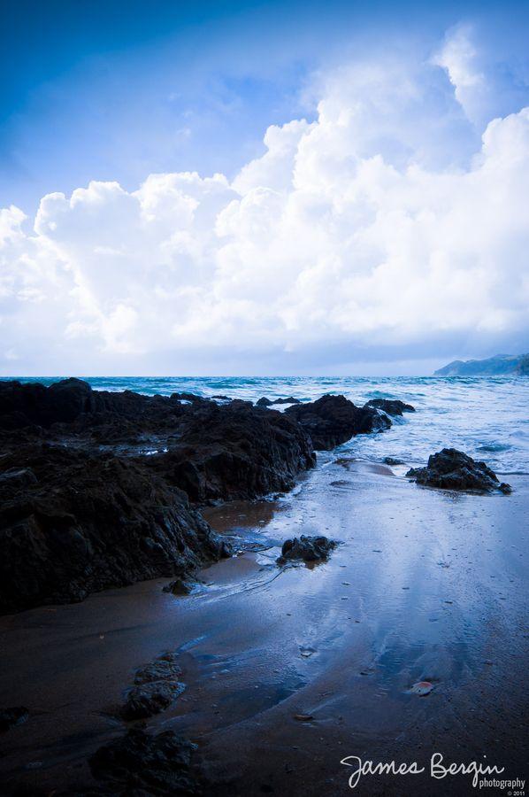 The water at Waipu Cove beach