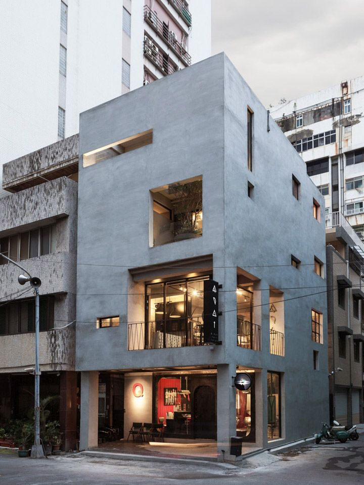 Renovation of Split-Level Hair Salon & Residential by Hao Design, Kaohsiung City – Taiwan » Retail Design Blog