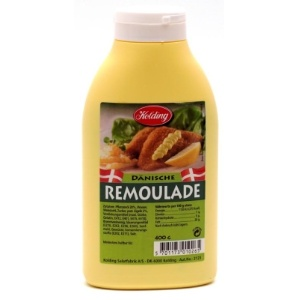 The only remoulade I love is the Danish variant. It is great with fried fish, hotdogs and french fries!