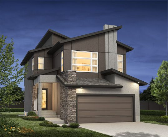 Our Garneau D ~ Available in the One at Windermere, Edmonton www.dolcevitahomes.ca