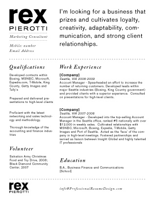 Best Resumes Images On   Resume Ideas Resume Layout