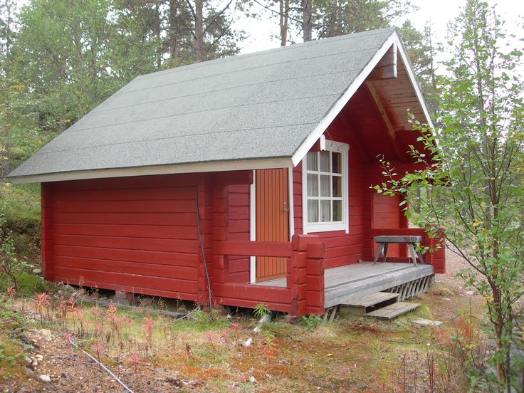 RED COTTAGES (NO. 6, 7 and 8) - These cottages can accommodate 4-6 people. Comes with a kitchenette, microwave, shower, indoor toiler, electric heating and running water. Prices start from 35€/night/person. Email us at lapiosalmi@saukko.fi for more info!