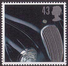 Classic Sports Cars 43p Stamp (1996) Jaguar XK120
