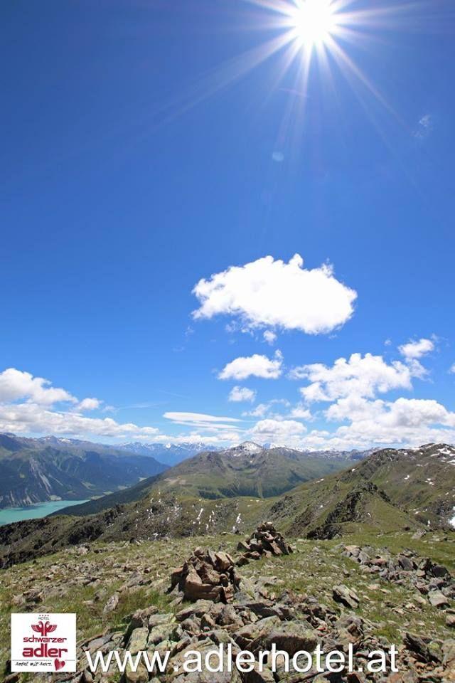 Sommerliche Höhenwanderungen am Reschenpass