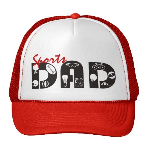 #Sports #Dad #red, #black #Hat #fathersday #gift See more #gifts here http://www.zazzle.com/zazzleproducts1?rf=238228936251904937=zBookmarklet