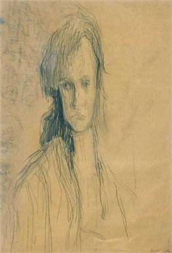 Ilka Gedo (1921-1985) - Self-portrait,