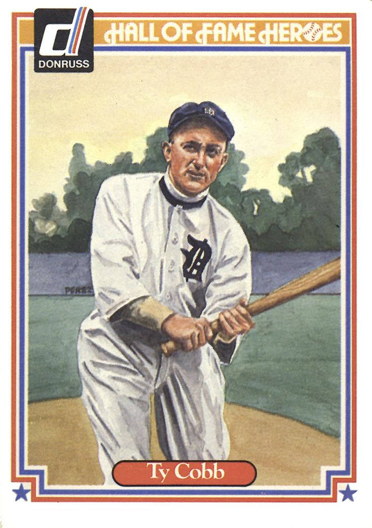 Mejores 84 imágenes de TY COBB en Pinterest | Arte de béisbol, Arte ...