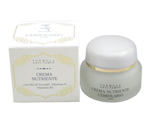 Nourishing Cream with Avocado Oil, Vitamin E Wrinkle Reducer by L'Erbolario Lodi