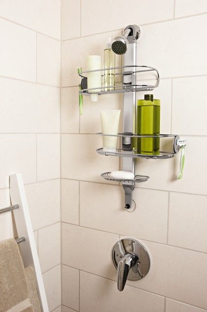 Shop a variety of #bathroom #storage contemporary #shower #caddy at #UKGradedStock.