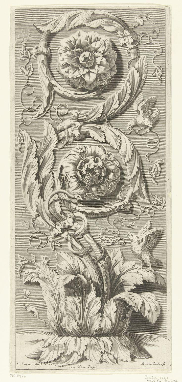 Verticale dubbele bladrank |Lochon, René