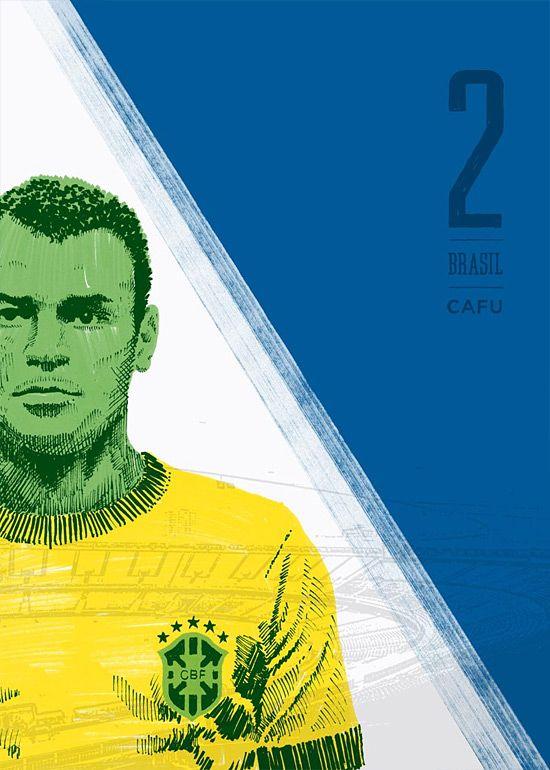 11 Series: Soccer Illustrations by Ty Palmer   Inspiration Grid   Design Inspiration