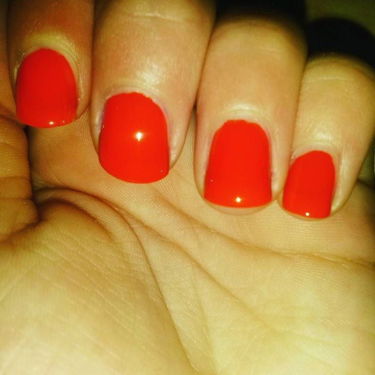 #nailart #nailpolish # #nails #naildesigns #polish #cutenails #nails #nail #nailaddict #scra2ch #red #orange by sams_awesome_nails