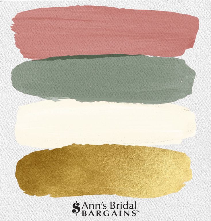 The Perfect Palette: Dusty Rose, Gold, Ivory and Olive   Mariage rose poudre, Couleur mariage ...