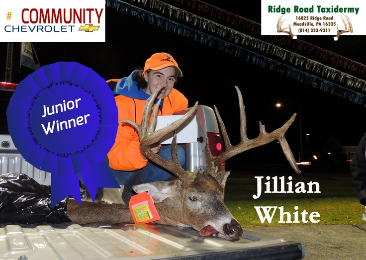 Junior Winner Jillian White