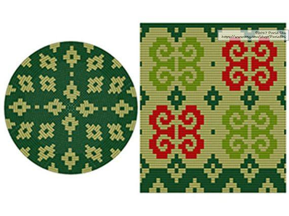 PATTERN: MEXICO Set of wayuu mochila patterns wayuu bag