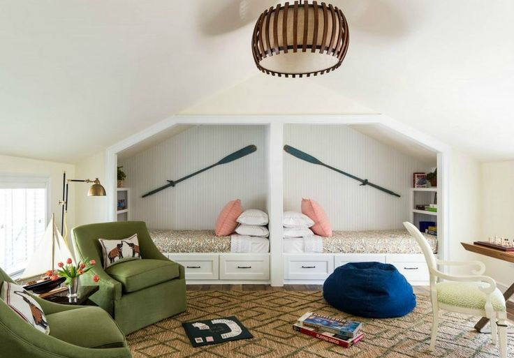 The Southern Living Idea House By Bunny Williams. Bunk RoomsPlay ...