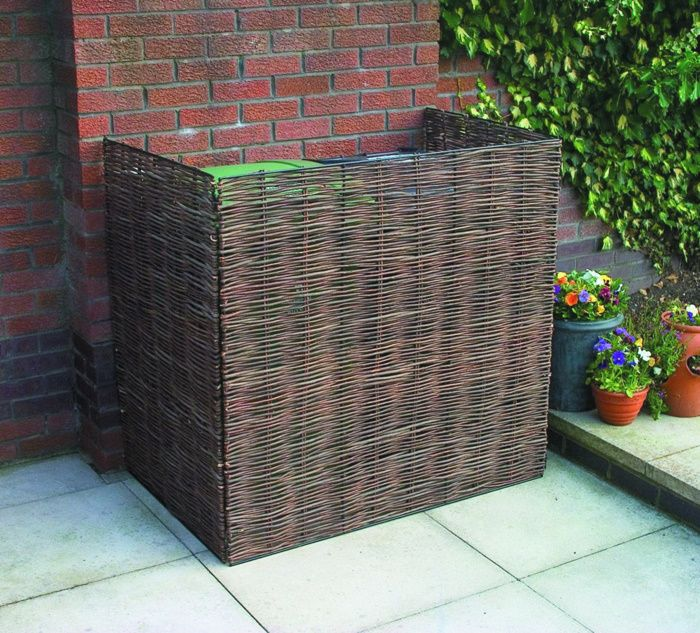 Willow Wheelie Bin Screen - so need this to hide my ugly bins!
