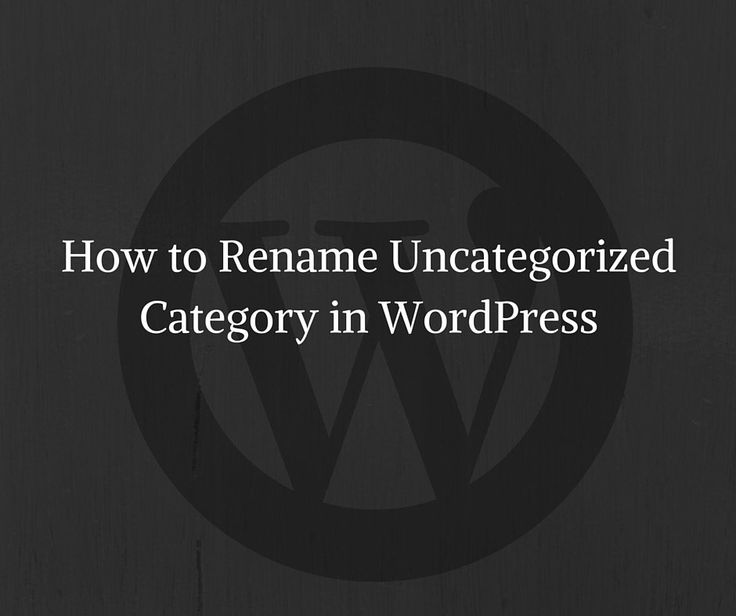 I have a simple method to delete or rename uncategorized. In this post, I will show you how to delete or rename the uncategorized category in WordPress.