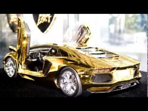 First Gold Plated Lamborghini Aventador Lp700 4 Better