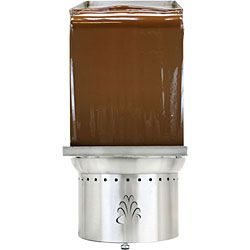 Chocolate peanut butter fountain