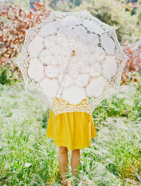 Lace parasol: Outdoor Wedding, Lace Parasol, Lovely Parasol, Umbrella Ella Ella, Parasols Umbrellas, Pretty Parasols