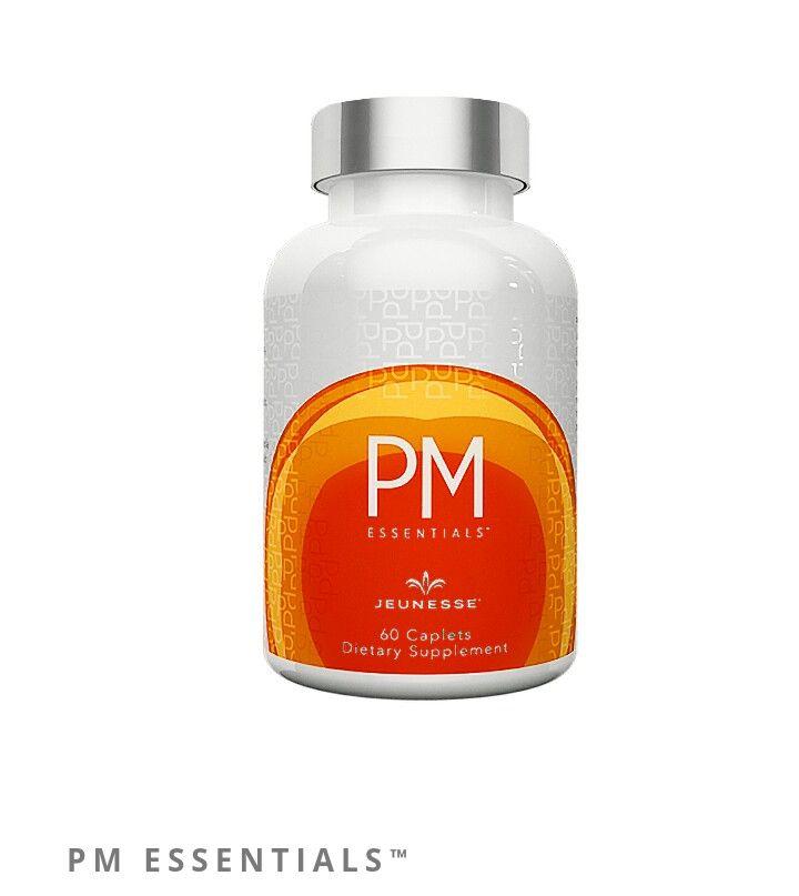 FINALICE EL DÍA RELAJADO  PM Essentials™ es una fórmula restauradora que contiene nutrientes clave y combinaciones patentadas