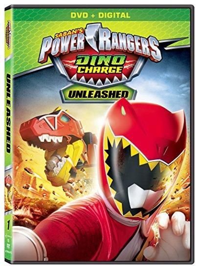Brennan Mejia & James Davies & Jonathan Brough & Charlie Haskell -Power Rangers Dino Charge: Unleashed Digital