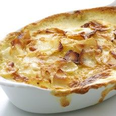 Gratin Dauphinois   But make double - this was not enough for four people!
