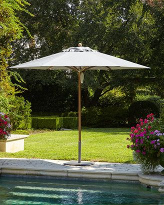 Shop Now - >  https://api.shopstyle.com/action/apiVisitRetailer?id=504920442&pid=uid6996-25233114-59 Santa Barbara Designs Charcoal Standard Canopy Outdoor Umbrella  ...