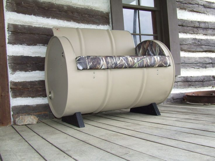 25 great ideas about 55 gallon steel drum on pinterest 55 gallon drum steel drum and barrel. Black Bedroom Furniture Sets. Home Design Ideas