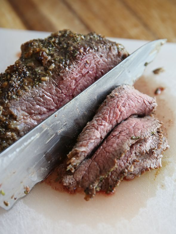Garlic-Rosemary Tri-Tip Roast -Delicious Dinner Recipe Pin From Our Best Bites Now!