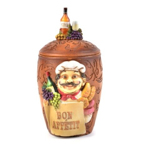 Resin French Chef Jar Idk Y I Like This Little Chef