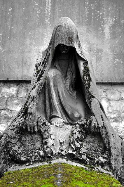 Grave Marker ... Pere Lachaise Cemetery ... Paris, France