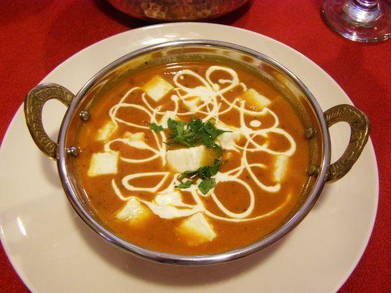 Shahi paneer la Ganesha Restaurant - Bucuresti