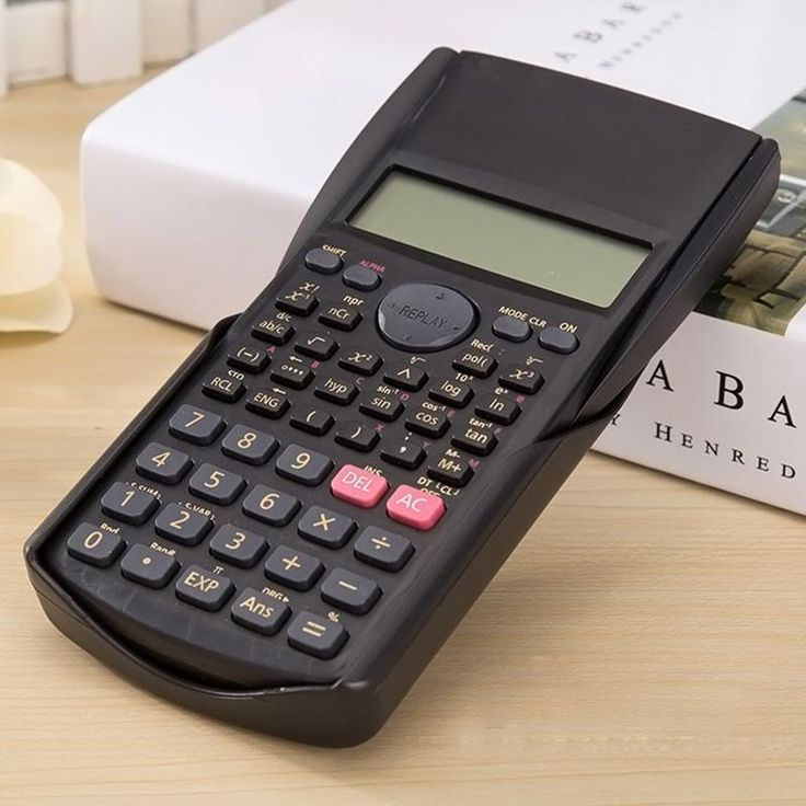 Calculator Multi-function 2-Line Student Function LCD Display Scientific Calculator Counter Calculating Machine XXM