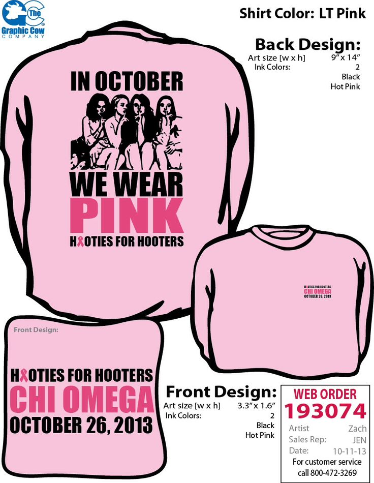 Chi Omega Breast Cancer Walk Hooties for Hooters Sorority shirt