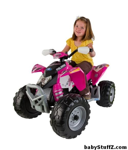 peg perego polaris outlaw pink top 8 cars for kids in 2015 powerwheels