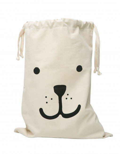 Fabric Storage Bag - Bear