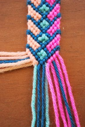 OH SO PRETTY the DIARIES: the diy: crazy complicated friendship bracelet. But it looks so cute :(