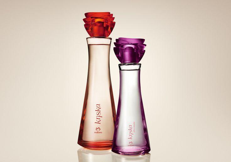 Presente Natura Kriska - Desodorante Colônia Kriska de Natura + Desodorante Colônia Kriska Liberdade + Embalagem Desmontada