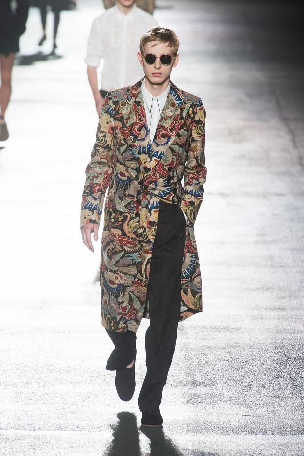 Dries Van Noten Spring / Summer 2014 men's