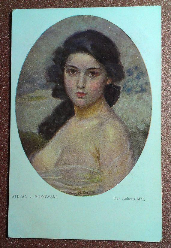Erotic Antique postcard circa 1911s. Edwardian by JustSweetHoney